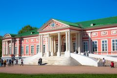 Kuskovo palace Stock Photo