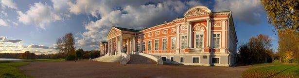 Kuskovo panorama Royalty Free Stock Photography