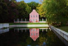 Kuskovo park w Moskwa holenderski dom Zdjęcie Stock