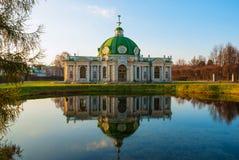 Kuskovo w Moskwa obraz stock
