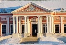 Kuskovo Zustand. Ansicht des ducal Palastes Lizenzfreies Stockfoto