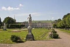 kuskovomoscow slott Arkivbilder
