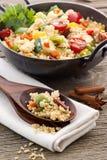 Kuskus com vegetal Foto de Stock Royalty Free