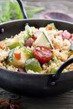 Kuskus con la verdura Fotografie Stock