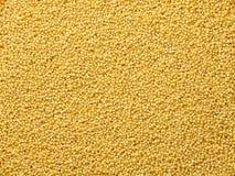 Kuskus sät flachen Lebensmittelhintergrund Stockbild