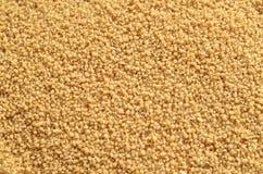 Kuskus und Getreideernte stockbilder