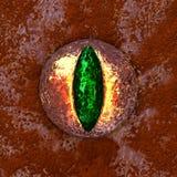 Kuslig ögonglob för gigantiskt öga royaltyfri illustrationer