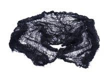 Kuslig svart bomullsrengöringsduktorkduk Fotografering för Bildbyråer