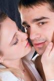 Kuss Lizenzfreie Stockfotografie
