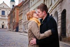 Kuss Stockfoto