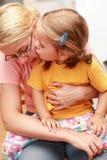 Kuss für eine Mamma stockfotos
