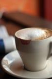 Kussende koffie Royalty-vrije Stock Foto