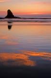 Kust 11 van Oregon Royalty-vrije Stock Fotografie