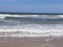 Kust Atlantic Ocean Arkivfoto