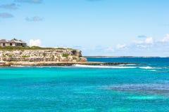 Kust av Antigua Royaltyfri Bild