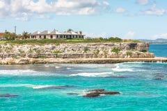 Kust av Antigua Royaltyfri Foto