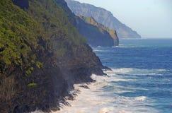 Kust av av Kauai, Hawaii Royaltyfri Fotografi