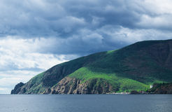 Kust av Blacket Sea Royaltyfri Bild