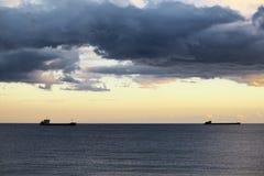 Kust av Blacket Sea Royaltyfri Foto