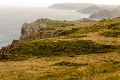 Kust av Cantabria Royaltyfria Foton