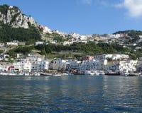 Kust av Capri Royaltyfria Bilder