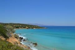 Kust av den Gozo ?n malta arkivbilder