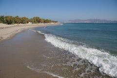 Kust av den Kos ön, Grekland royaltyfri bild