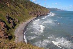 Kust av den Sakhalin ön Royaltyfri Bild