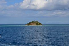 Kust av Fiji, Mamanucas ö grupp Royaltyfri Bild