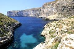 Kust av Gozo Royaltyfri Bild
