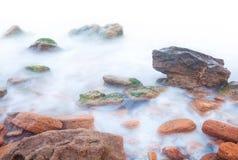 Kust av havet Arkivfoto