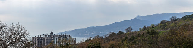 Kust av Krimet royaltyfri bild