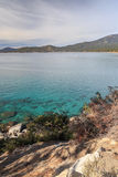 Kust av Lake Tahoe Arkivfoton