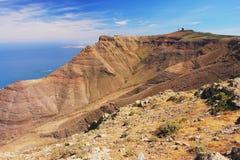 Kust av Lanzarote Royaltyfri Fotografi