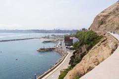 Kust av Lima, Peru Fotografering för Bildbyråer