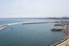 Kust av Lima, Peru Royaltyfri Foto