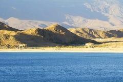 Kust av Oman, Mirbat landskap Royaltyfri Bild