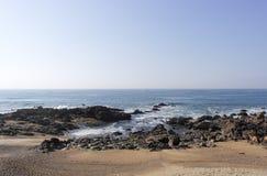 Kust av Porto Royaltyfria Foton
