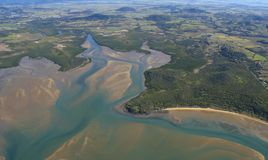 Kust av Queensland, Australien Arkivbilder