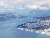 Kust av San Francisco California arkivbilder