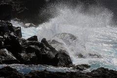 Kust av San Miguel, Azoresna fotografering för bildbyråer