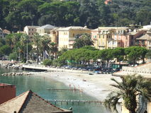 Kust av Savona Italien arkivfoto