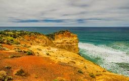 Kust av Stilla havet stor havväg apostlar tolv Arkivbilder