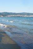 Kust av Sunny Beach Royaltyfria Bilder