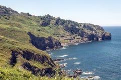 Kust av Vizcaya Arkivbild