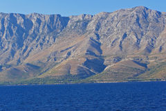 Kust bergketen Stock Foto