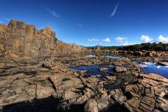 kust- bildanderock Royaltyfria Foton