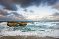 kust- bildanderock Arkivfoto