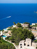 Kust- bosatta Mallorca Arkivbild