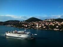 kust croatia royaltyfria bilder